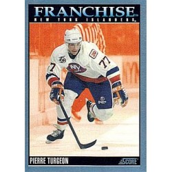 1992-93 Score Canadian Franchise c. 430 Pierre Turgeon NYI