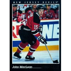 1993-94 Pinnacle Canadian c. 183 MacLean John NJD