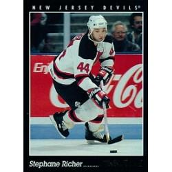 1993-94 Pinnacle Canadian c. 143 Richer Stephane NJD