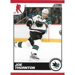 2010-11 Score c. 396 Joe Thornton SJS