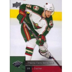 2009-10 Upper Deck c. 436 Pierre-Marc Bouchard MIN