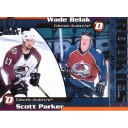 1998-99 Pacific Omega Opening Day Issue Belak Wade Parker Scott 38 56c. 66 COL
