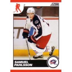 2010-11 Score c. 160 Samuel Pahlsson CBS