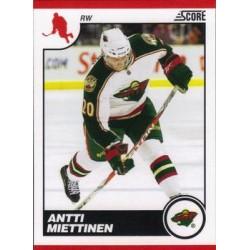 2010-11 Score Glossy c. 250 Antti Miettinen MIN