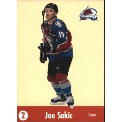 2001-02 Parkhurst He Shoots, He Scores Points c. JOSA Joe Sakic COL
