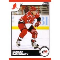 2010-11 Score c. 114 Sergei Samsonov CAR