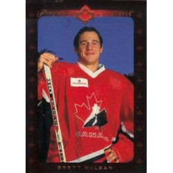 1995-96 Upper Deck c. 506 Brett McLean [Program of Excellence] CAN