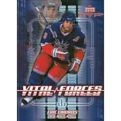2002-03 MVP Vital Forces c. VF10 Eric Lindros NYR