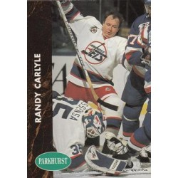 1991-92 Parkhurst French c. 418 Randy Carlyle WIN