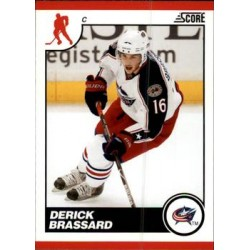 2010-11 Score Glossy c. 163 Derick Brassard CBS