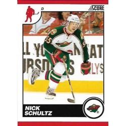 2010-11 Score Glossy c. 257 Nick Schultz MIN