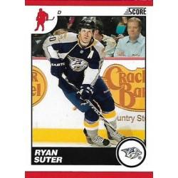 2010-11 Score Glossy c. 286 Ryan Suter NAS