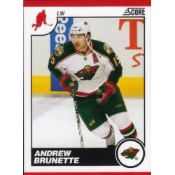 2010-11 Score Glossy c. 249 Andrew Brunette MIN