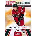 2010-11 Score Hot Rookies c. 520 Casey Wellman MIN