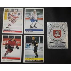 1997-98 DS Stickers c. 213 Jiri Hanzlik - Plzen