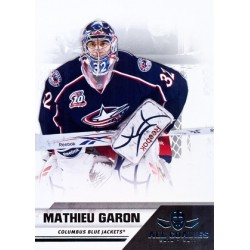 2010-11 Panini All Goalies c. 022 Mathieu Garon CBS