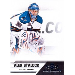 2010-11 Panini All Goalies c. 073 Alex Stalock SJS