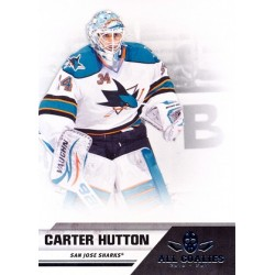 2010-11 Panini All Goalies c. 075 Carter Hutton SJS