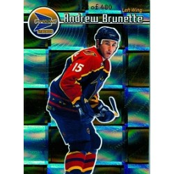 1999-00 Pacific Prism Holo Gold c. 006 Brunette Andrew 122 / 480 ATL