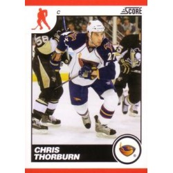 2010-11 Score c. 058 Chris Thorburn ATL