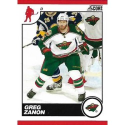 2010-11 Score c. 258 Greg Zanon MIN
