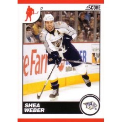 2010-11 Score c. 285 Shea Weber NAS