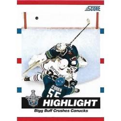 2010-11 Score c. 497 Dustin Byfuglien, Roberto Luongo CHI