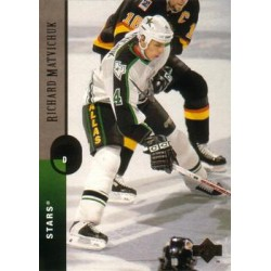1994-95 Upper Deck c. 157 Richard Matvichuk DAL