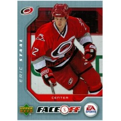 2007-08 Upper Deck FaceOff c. F03 Staal Eric CAR