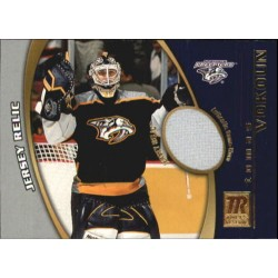 2001-02 Topps Reserve Game Used Jersey c. TV Tomas Vokoun NAS