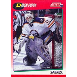 1991-92 Score Canadian English c. 106 Daren Puppa BUF