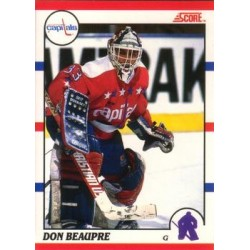 1990-91 Score Canadian c. 215 Don Beaupre WSH