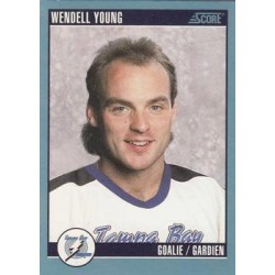 1992-93 Score Canadian c. 511 Wendell Young TBL