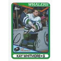1990-91 Topps c. 232 Kay Whitmore RC HFD
