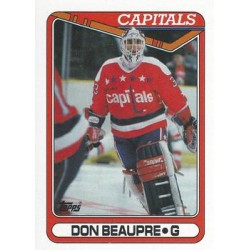 1990-91 Topps c. 253 Don Beaupre WSH