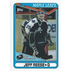 1990-91 Topps c. 349 Jeff Reese RC TOR