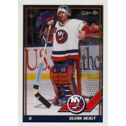 1991-92 O-Pee-Chee c. 368 Glenn Healy NYI