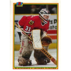1990-91 Bowman c. 011 Jacques Cloutier CHI