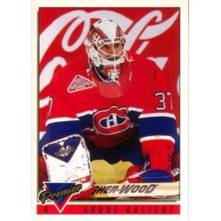 1993-94 Topps Premier O-Pee-Chee c. 313 Andre Racicot MON