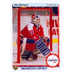 1990-91 Upper Deck c. 217 Don Beaupre WSH