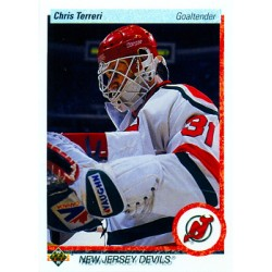 1990-91 Upper Deck c. 183 Chris Terreri NJD