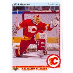 1990-91 Upper Deck c. 010 Rick Wamsley CGY