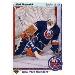 1990-91 Upper Deck French c. 037 Mark Fitzpatrick NYI
