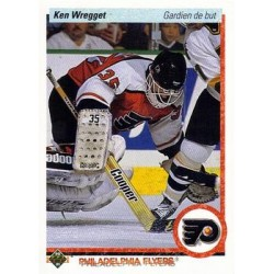 1990-91 Upper Deck French c. 089 Ken Wregget PHI