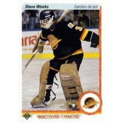 1990-91 Upper Deck French c. 107 Steve Weeks VAN