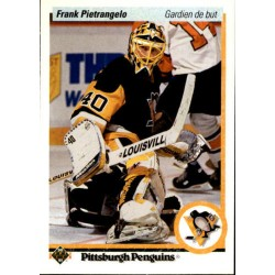 1990-91 Upper Deck French c. 403 Frank Pietrangelo PIT