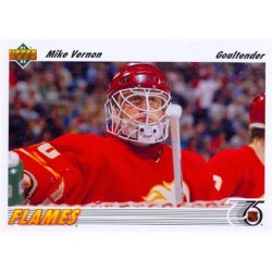 1991-92 Upper Deck c. 163 Mike Vernon CGY