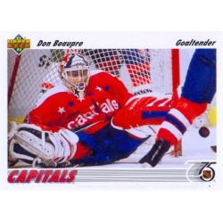1991-92 Upper Deck c. 197 Don Beaupre WSH