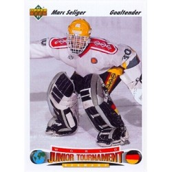 1991-92 Upper Deck World Junior Tournament c. 023 Marc Seliger