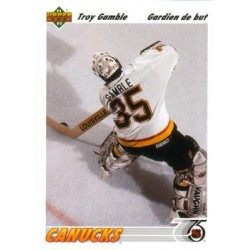 1991-92 Upper Deck French c. 120 Troy Gamble VAN